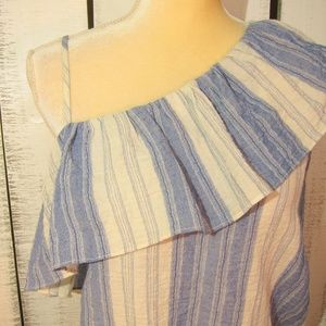 Flawless Tops - Flawless One Shoulder Top Size L